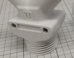3D Printed Facilan C8 toilet
