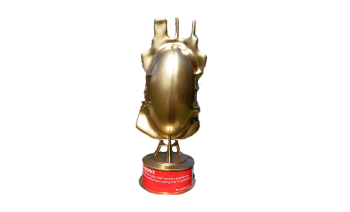 SANBS Floating 3D Printed Gaz'Lam Trophy
