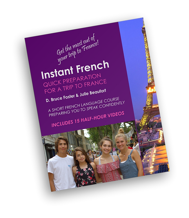 Instant French texbook cover.