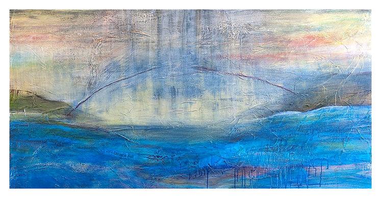 Cheryl Ruddock Chain Splice painting