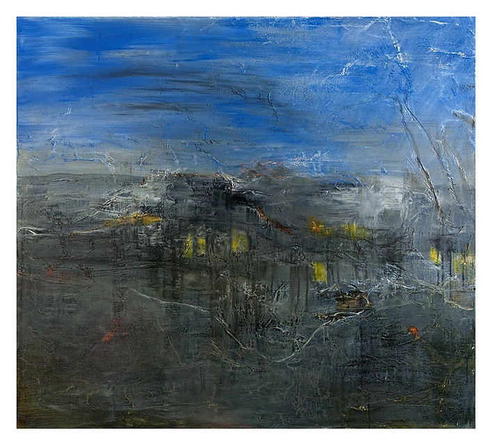 Cheryl Ruddock Water Arrival painting