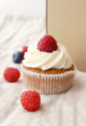 Cupcake with Berries