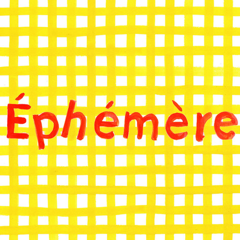 Logo for Éphémère