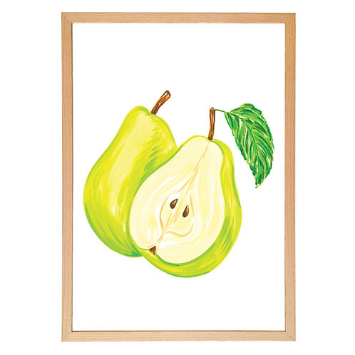One and a half pear