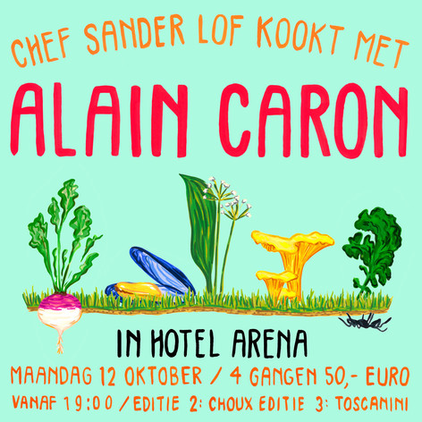 Flyer for Hotel Arena