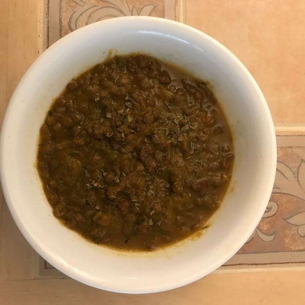 Spicy Italian Lentil Soup