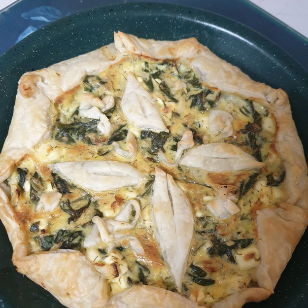 Winner: Cheese and Spinach Pie