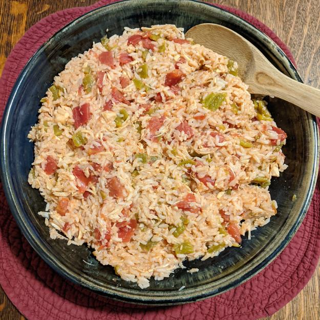 Winner: 5-minute Spanish Rice