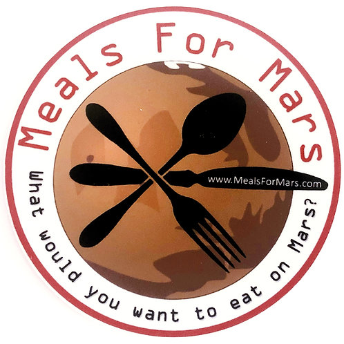 Meals For Mars Sticker