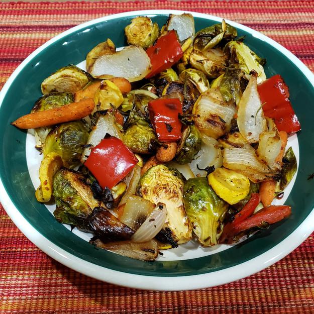 Grilled Veggie-Bowls