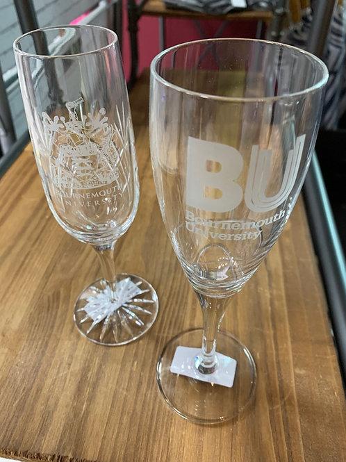 BU Champagne Glass