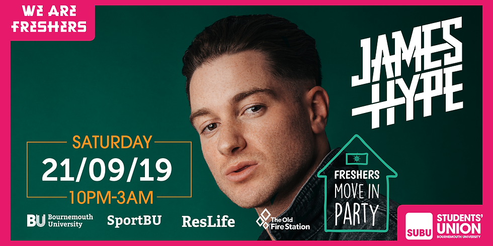 Official Move In Party with James Hype