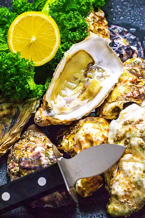 Live Porlock Bay Oysters - Delivery 14/05/2021
