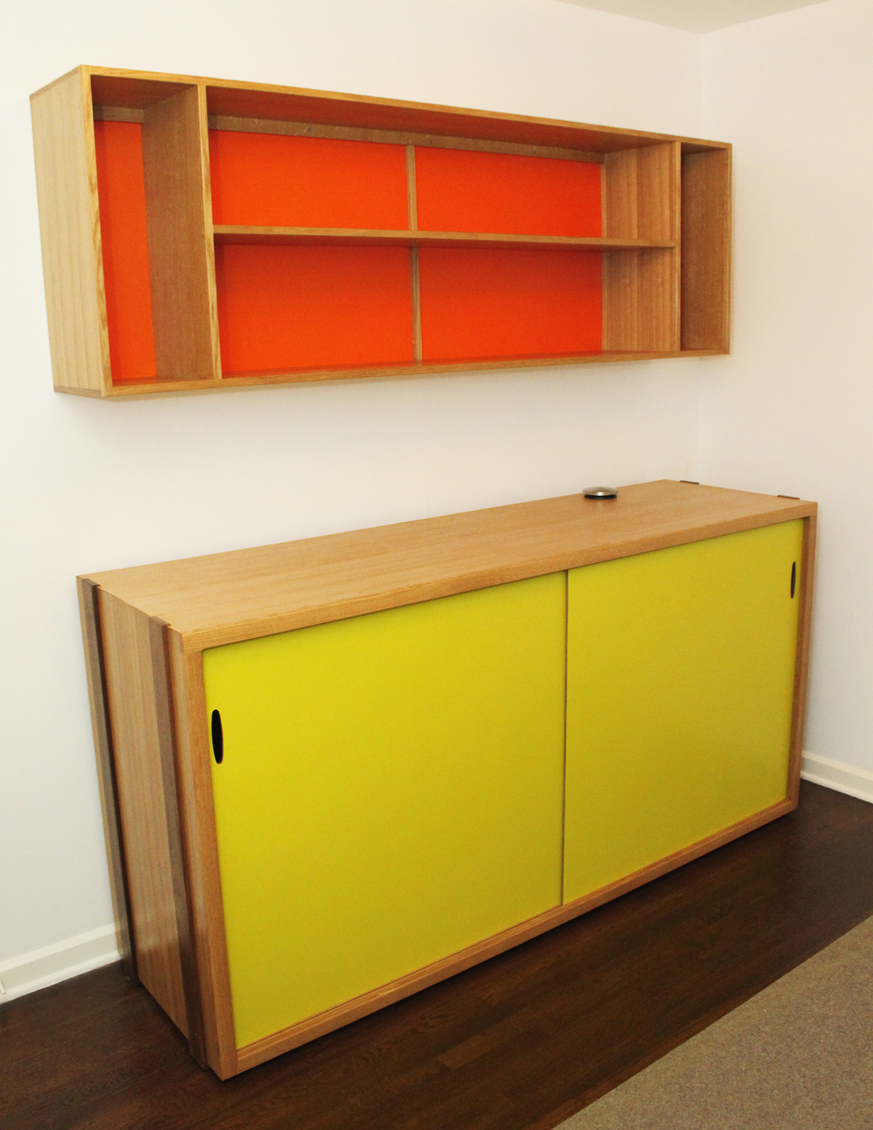 Credenza and Book Shelf