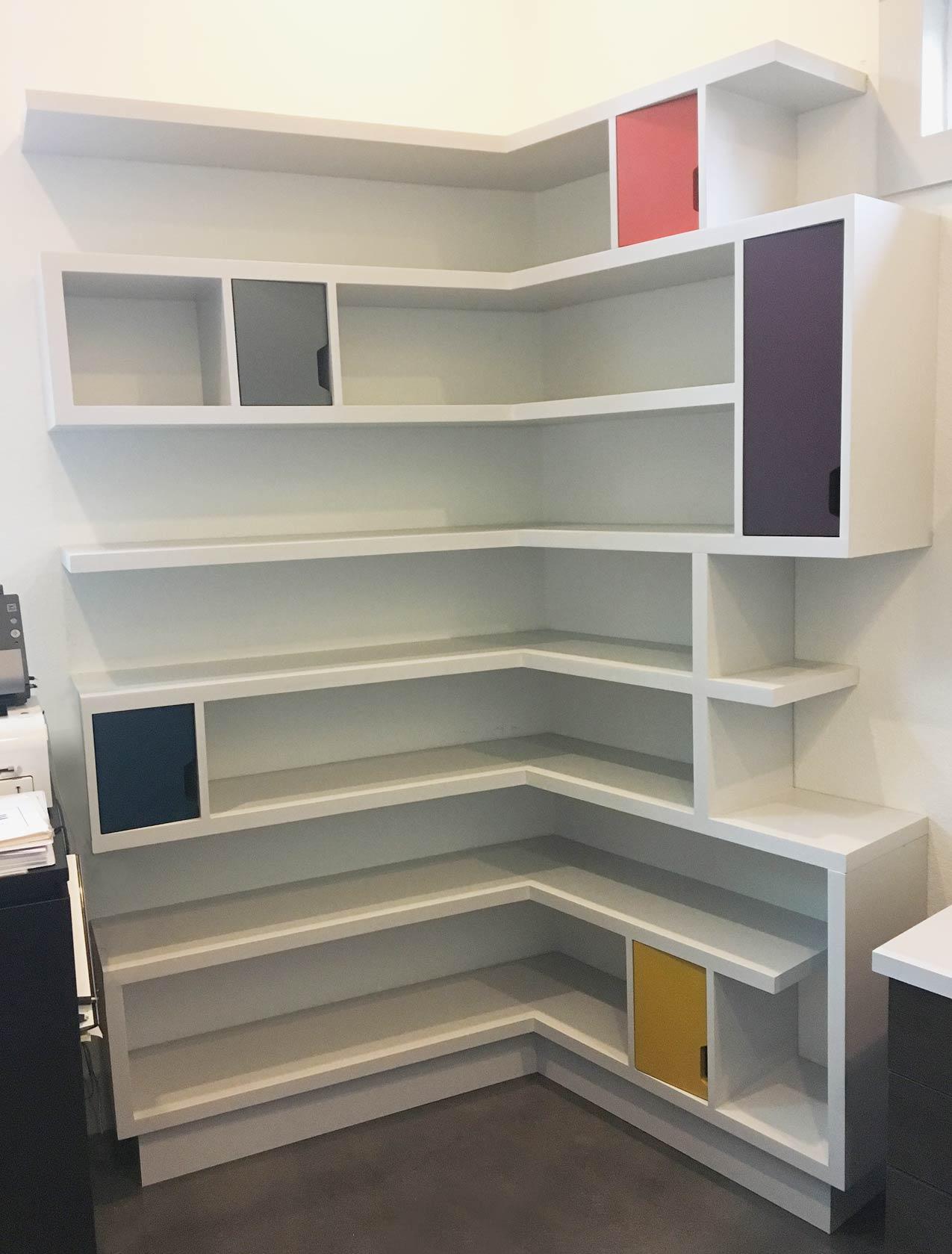 Corner-Bookcase