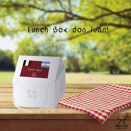 LUNCH BOX DON JUAN (Disponibile solo per il ritiro al ristorante)