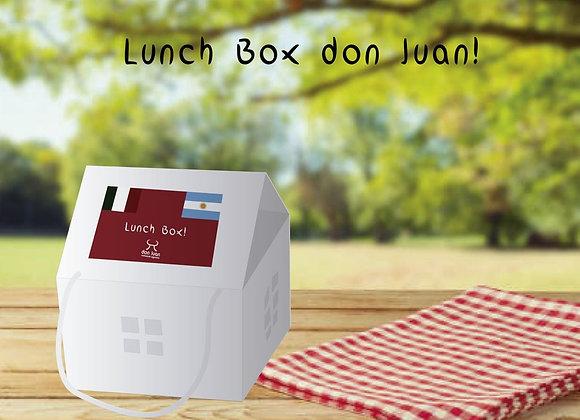 LUNCH BOX DON JUAN (Disponibile solo a pranzo)