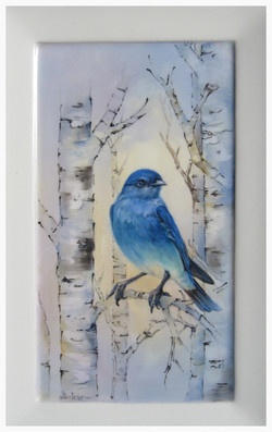 Indigo Bunting with Birch Trees_edited.JPG