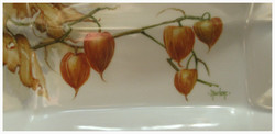 Chinese lanterns on small tray