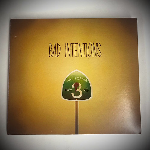 Bad Intentions | Physical CD