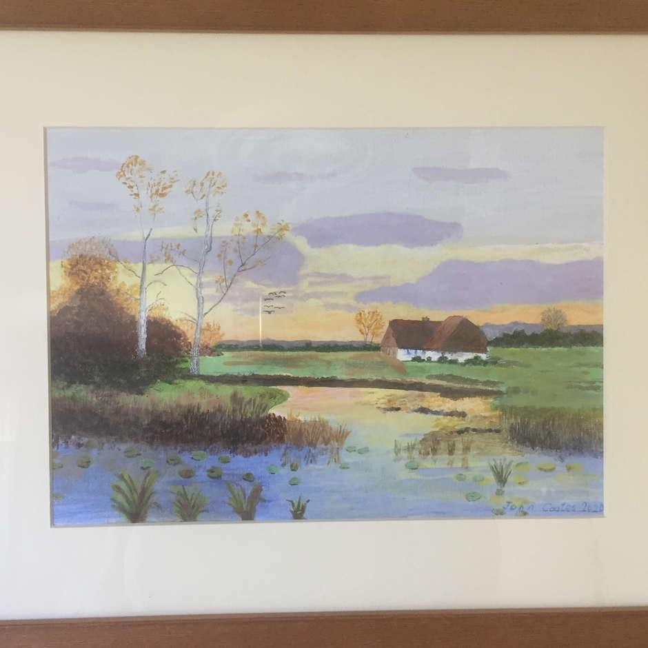 Countryside Sunset/John Coates