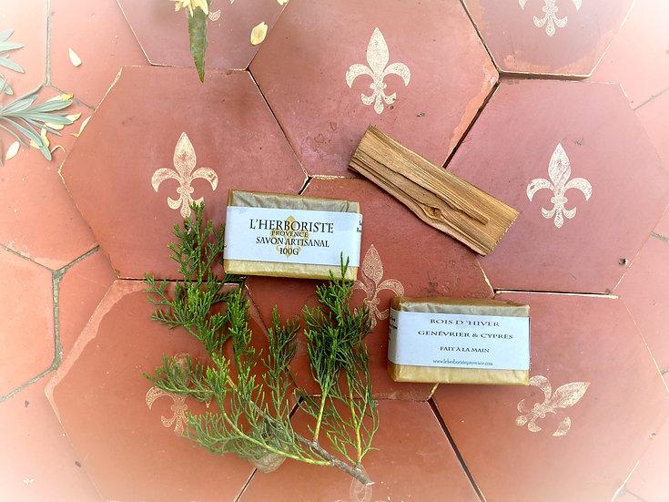 Winter wood soap