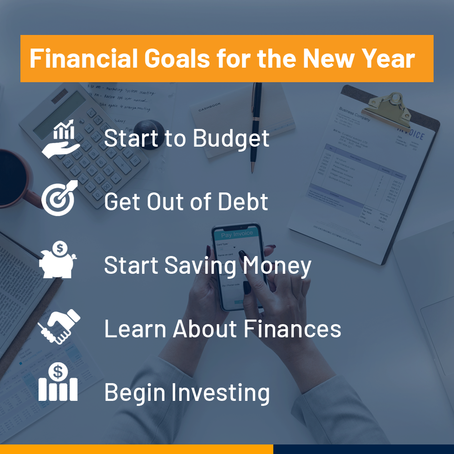 Financial Goals For The New Year