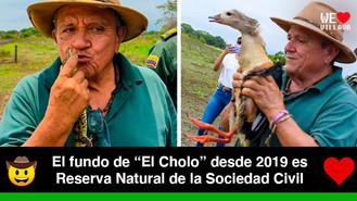 """Liberan 64 ejemplares de fauna silvestre en la Reserva Natural de """"El Cholo"""""""