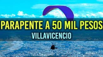 Solo por hoy habrá parapente a 50 mil pesos en Villavicencio