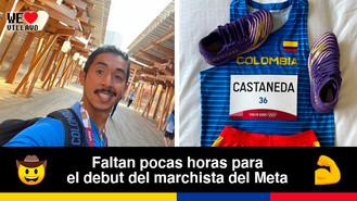 A las 2:30 a.m. Alexander Castañeda competirá en los Juegos Olímpicos de Tokio 2020