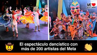 """""""Hay Boroboro"""", un show de danza colombiana"""