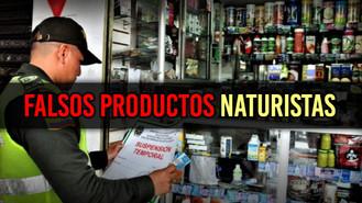 La Policía decomisó productos naturistas que son falsos