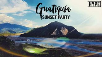 Primera versión de Guatiquía Sunset Party