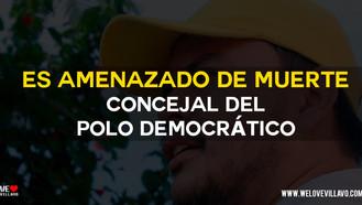 Siguen los casos de amenazas a concejales en Villavicencio.