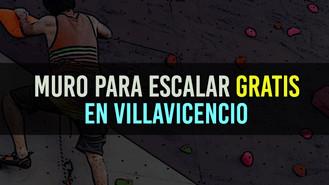 Muro para escalar gratis hoy en Villacentro