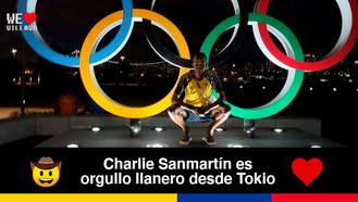 El llanero Carlos Sanmartin representará a Colombia el 30 de julio en Tokio