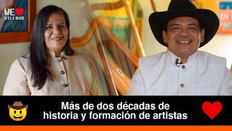 """""""Arpa de Oro"""", una de las mejores academias de música llanera en la región"""