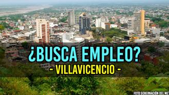 Nuevas vacantes laborales ofertadas en Villavicencio