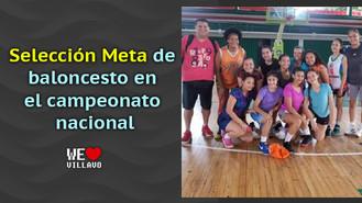 La selección Meta estará en el campeonato nacional infantil femenino interligas de baloncesto