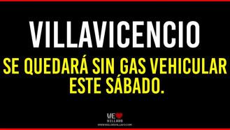 Habrá restricción de gas vehicular este nueve de enero.