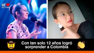 La llanera Laura Estefanía Linares, conquistó a los jurados de La Voz Kids