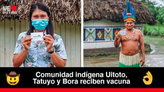 La vacuna contra el COVID-19 llegó al resguardo Maguaré de Villavicencio