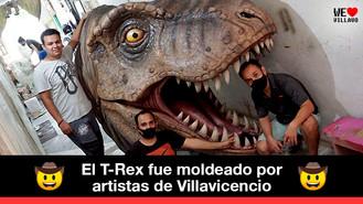 Autocine de Villavicencio tendrá dinosaurio gigante