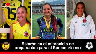 Tres futbolistas de Llaneros F.C fueron convocadas a la Selección Colombia Sub-17