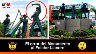 El dato curioso del Monumento al Folclor Llanero