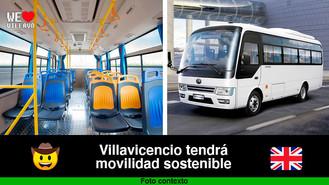 Reino Unido financiará estudios para el transporte público sostenible de Villavicencio