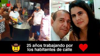 Carlos Castro y Margarita Garzón, referentes del compromiso social en Villavicencio