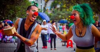 El circo callejero de Villavicencio.