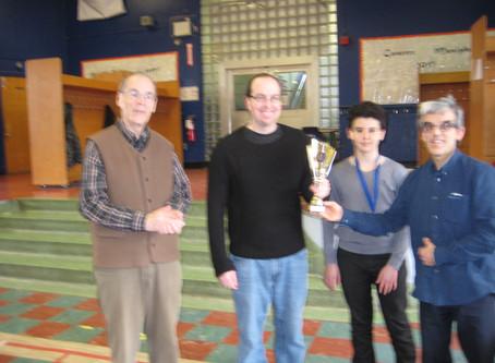 Championnat du Club d'échecs Ahuntsic 2018