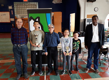 Résultats - Championnat du club d'échecs Ahuntsic Mai 2019